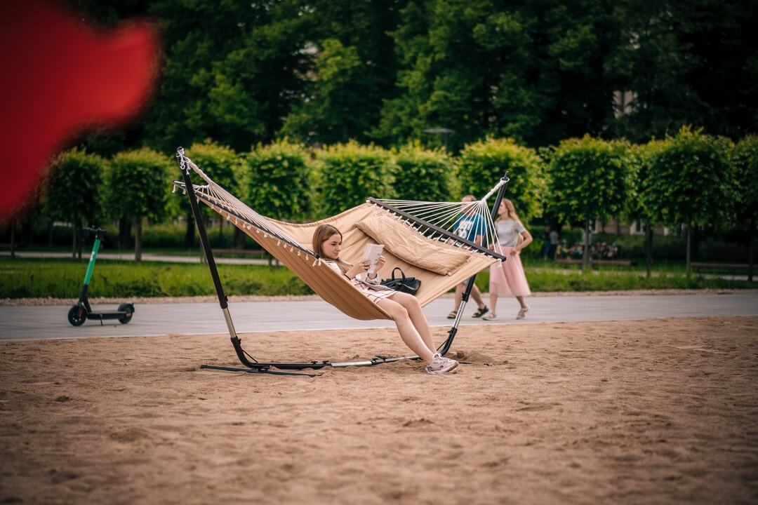 Open beach – a resort vacation in the centre of Vilnius