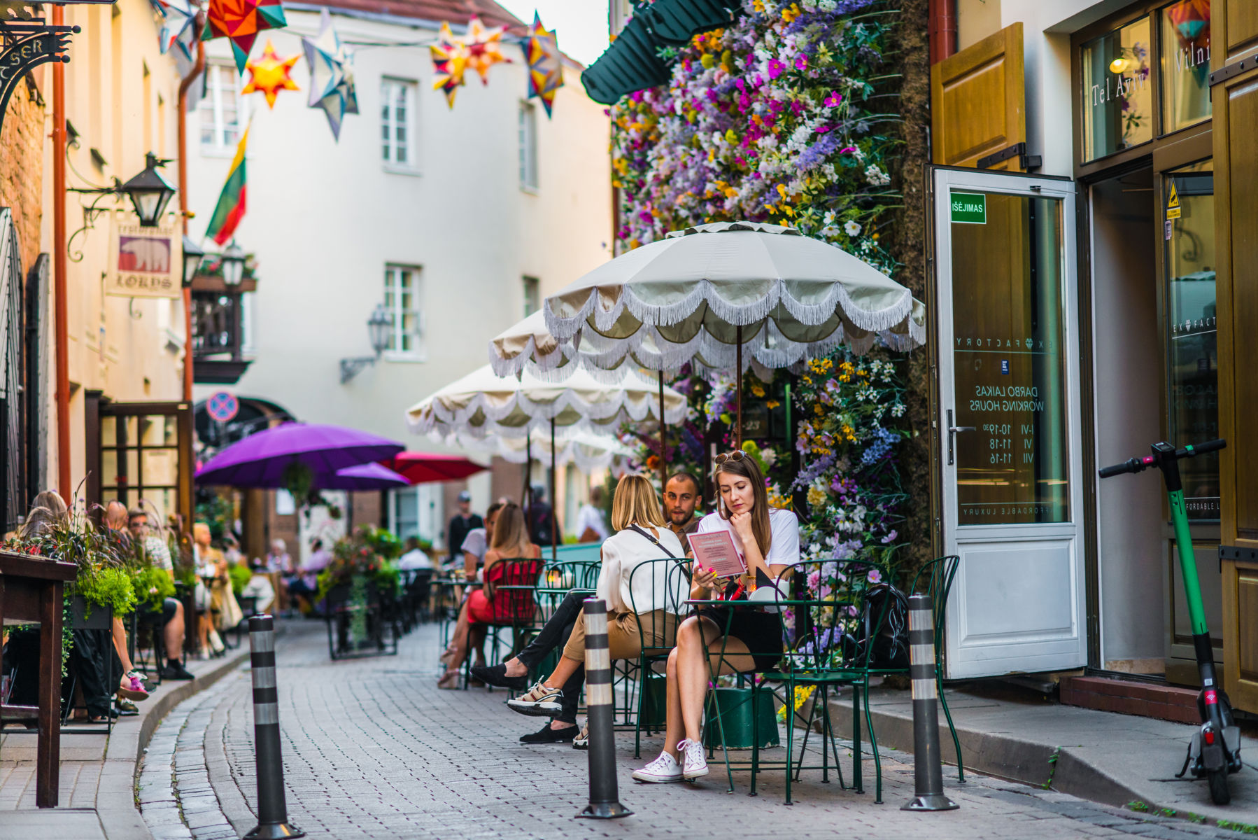 The whole city is an open-air cafe with a UNESCO-listed view