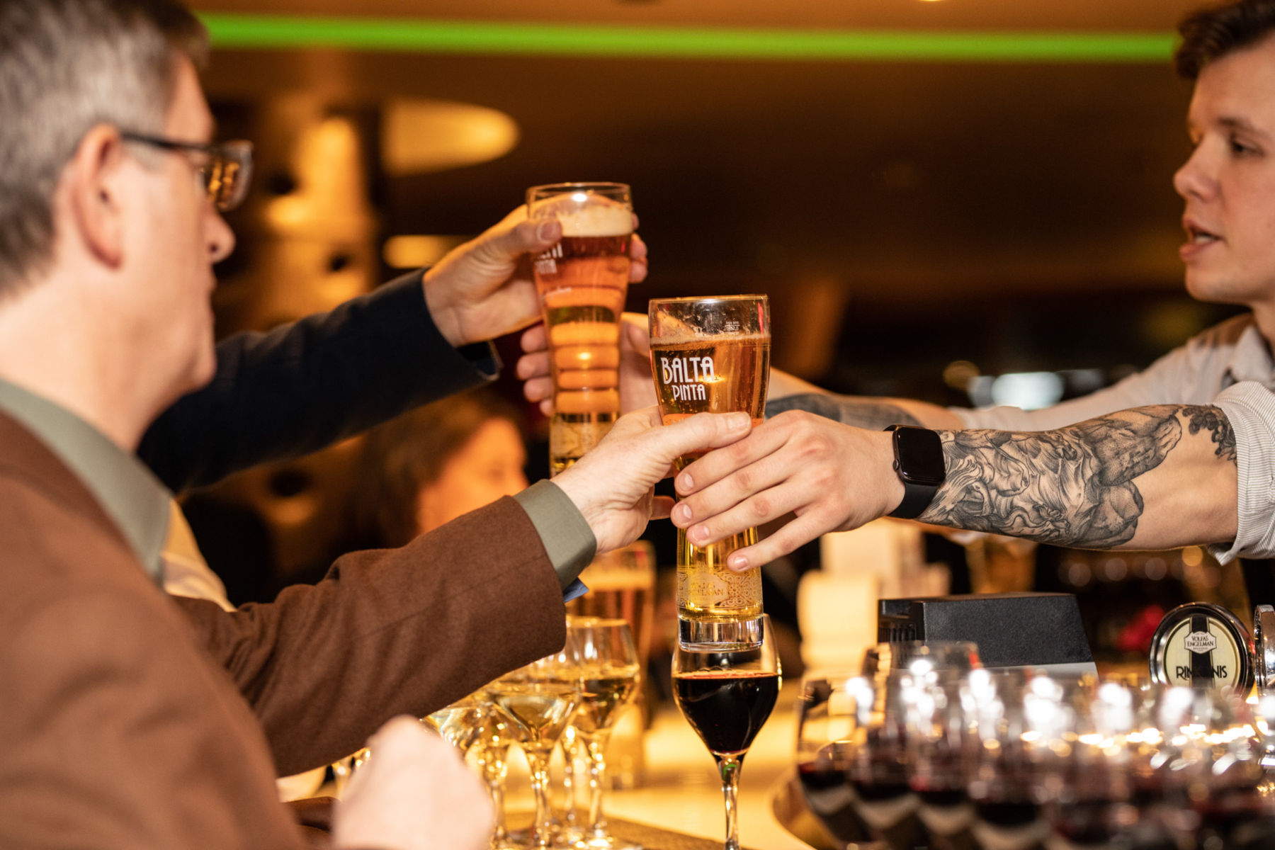 To beer or not to beer, is a rhetorical question here